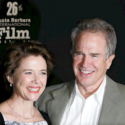 Annette Bening and Warren Beatty walk the red carpet at SBIFF