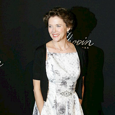 Annette Bening walks the red carpet at SBIFF