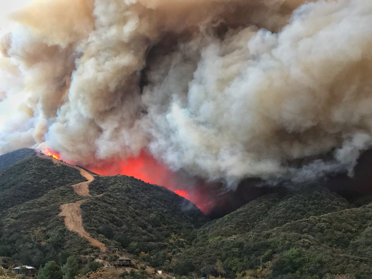 Thomas Fire Updates and News Image